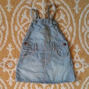 OshKosh B'gosh Baby Jean Jumper Dress Size 24M